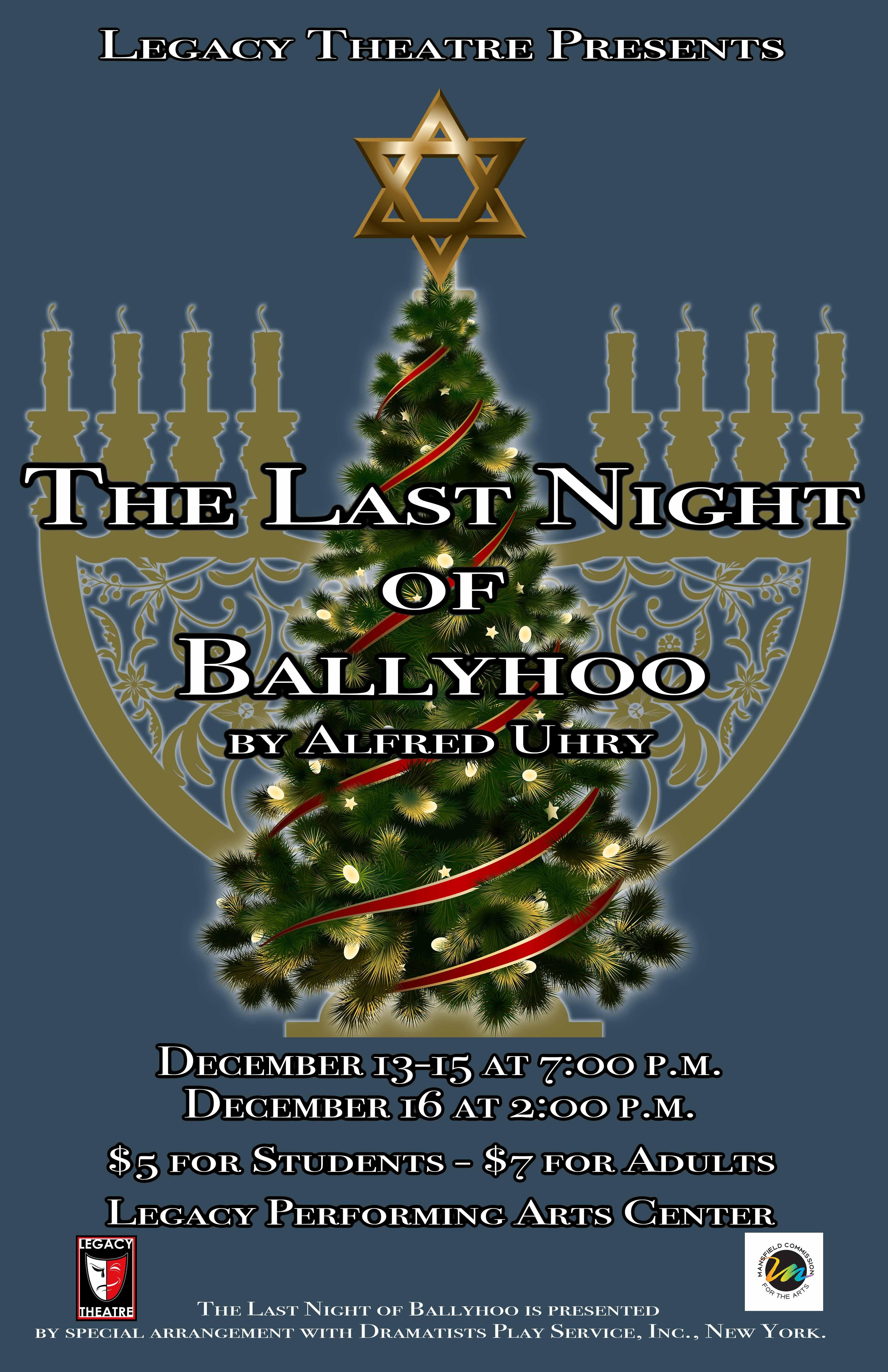 Ballyhoo PosterSmall