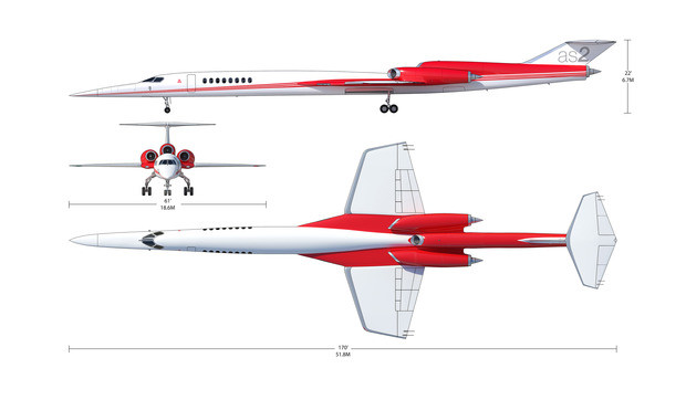 AS2 Supersonic Business