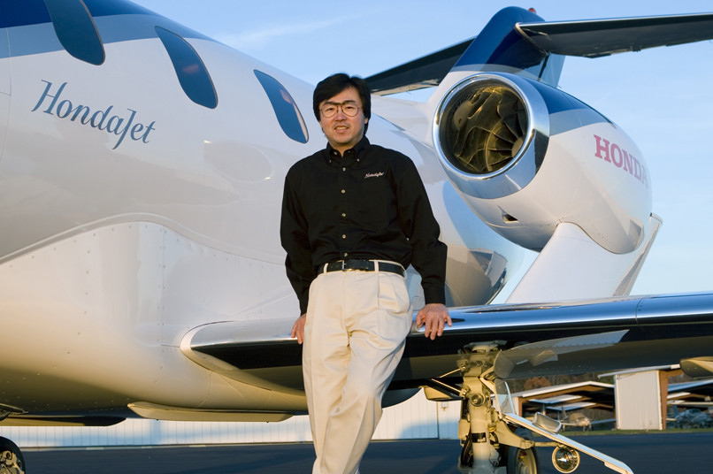 honda jet CEO