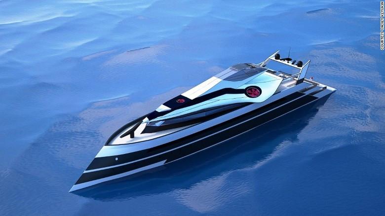 Transformer superyacht