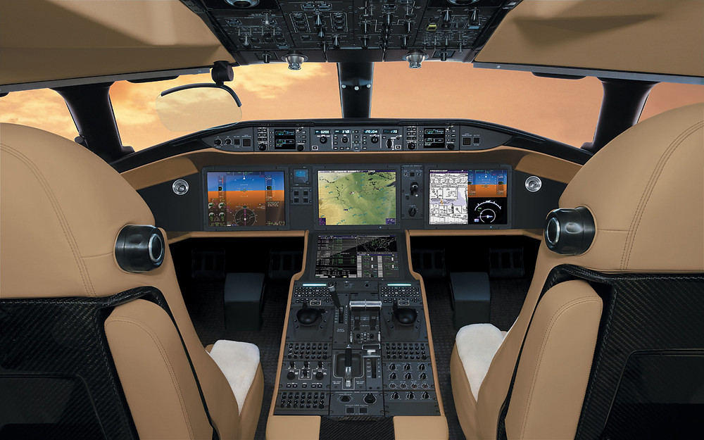 global 7000 cockpit