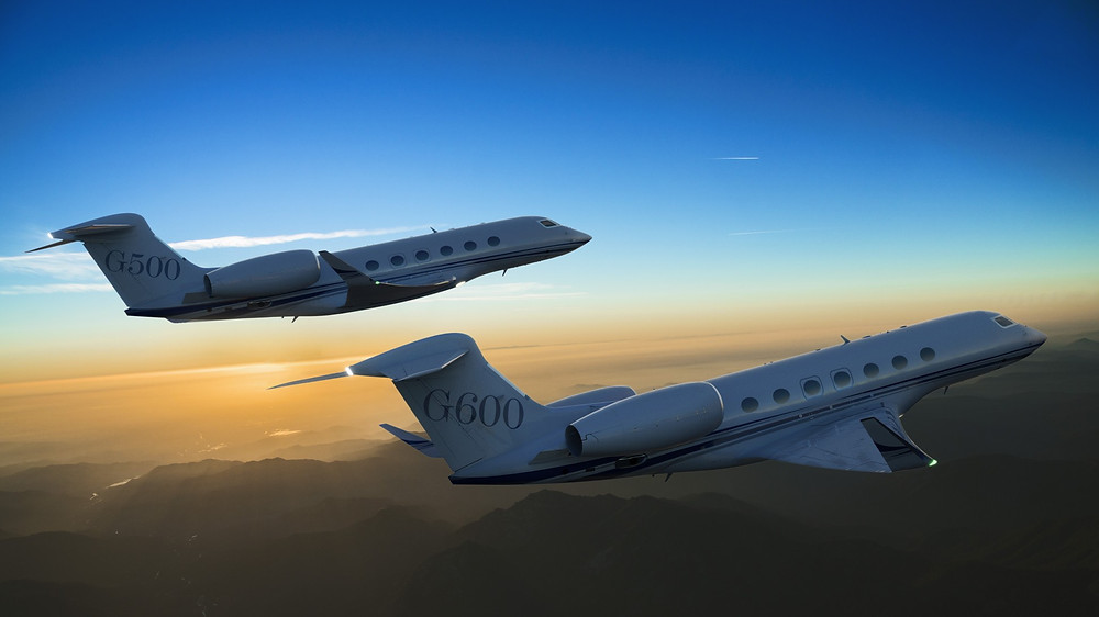 Unveils Its Ultrafast G500 and G600 Business Jets