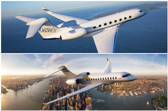 Bombardier Global 7000 vs gulfstream g650er