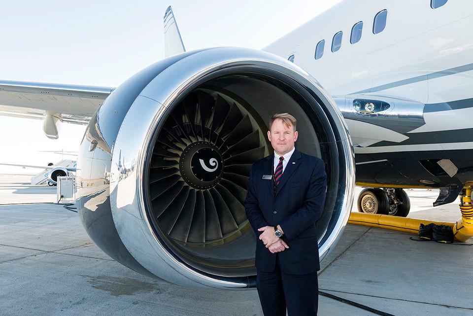 David Longridge, president, Boeing Business Jets
