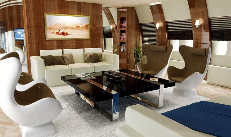 Private Jet lounge