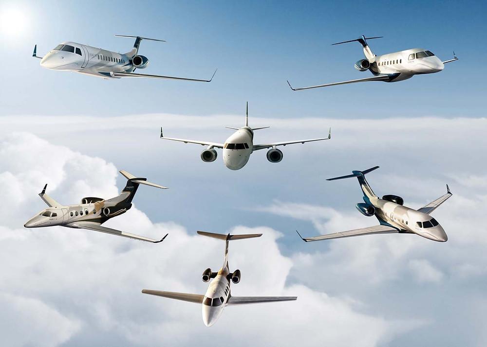 phenom business jet