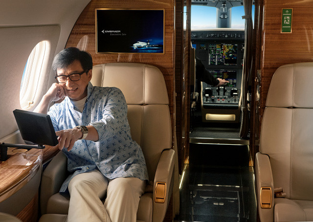 Actor Jackie Chan buys Legacy 500