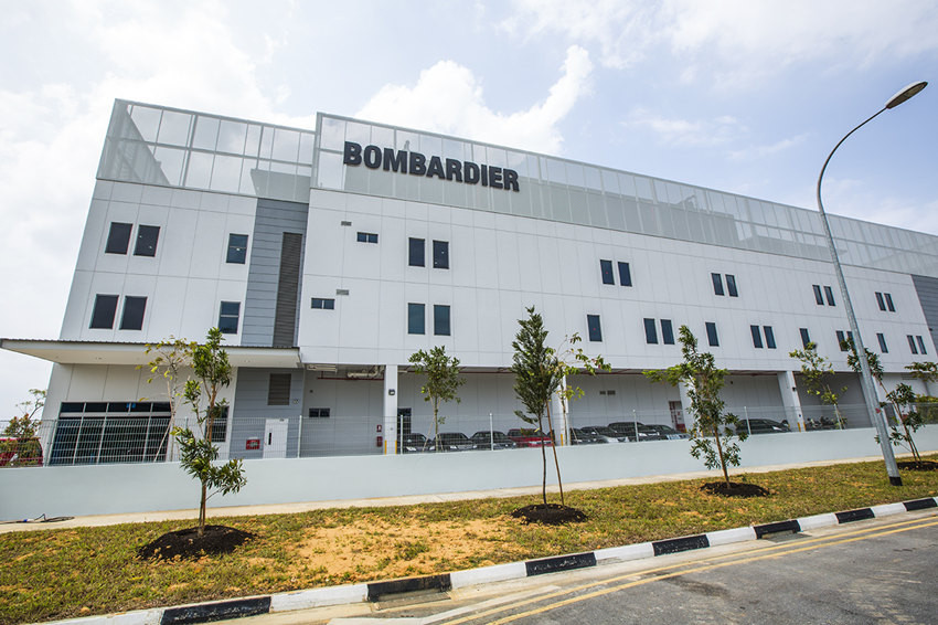 Bombardier and the Tianjin Airport Economic Area have broken ground on a new joint venture business jet MRO facility at the airport