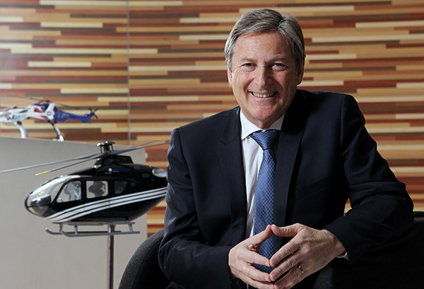 Norbert Ducrot, president and CEO of Airbus Helicopters China
