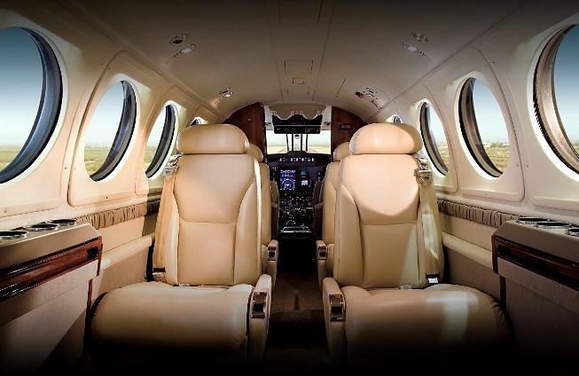 Upgraded Beechcraft King Air 250