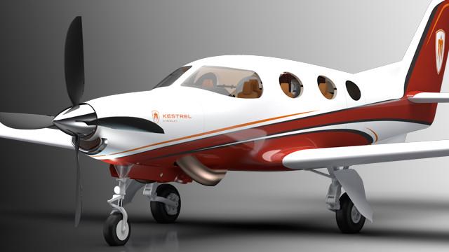 Kestrel Aircrfat and Eclipse Aerospace
