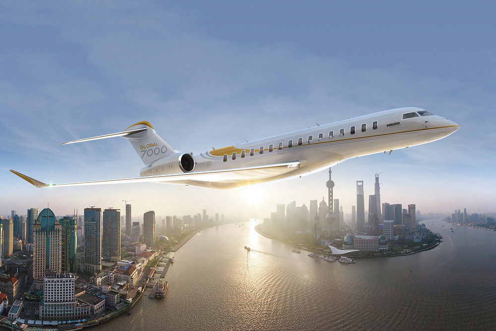 Global 7000 business jet