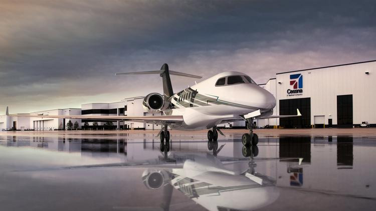 Cessna working on large-cabin jet