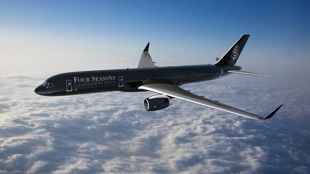 Four Seasons Branded Private jet