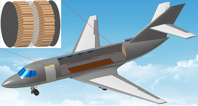 The irritating drone of an aircraft engine could be banished from the cabin forever