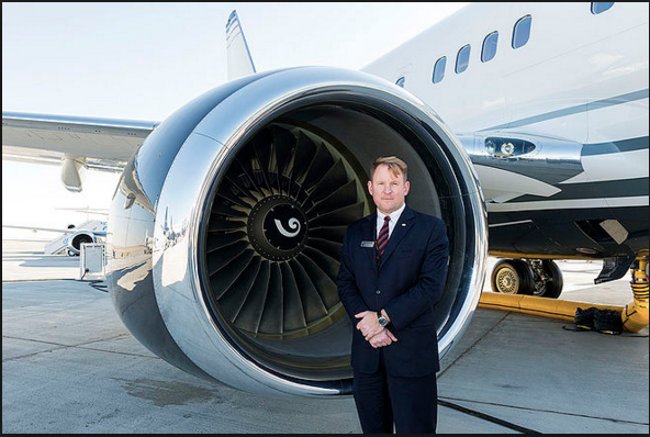 Boeing Business Jets president