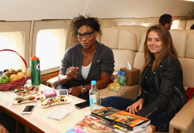 Productivity benefits of flying private