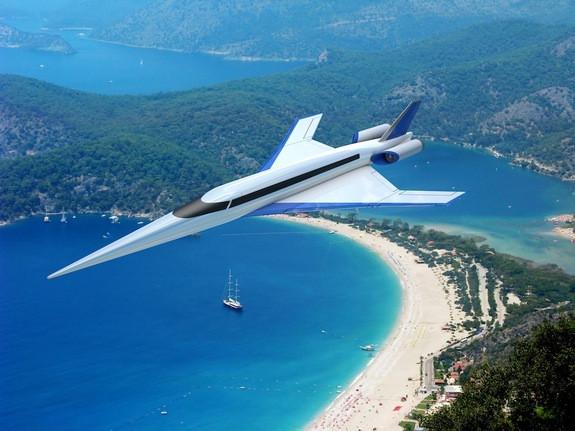 New Concorde-Style Supersonic Jet