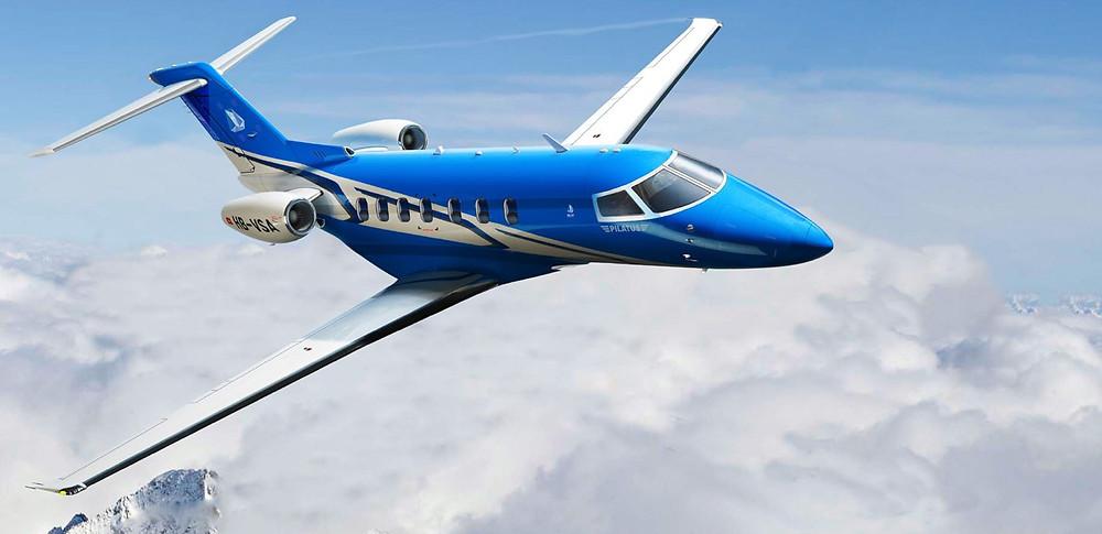 twin-engined PC-24 Super Versatile Jet