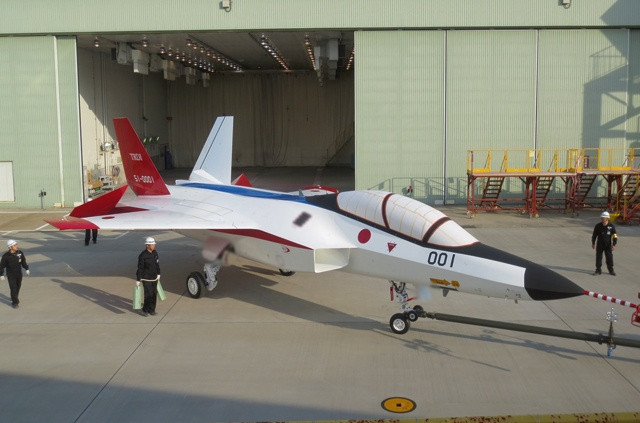 Watch Out, China- Japan Readies Test of New Stealth Fighter Jet.jpg