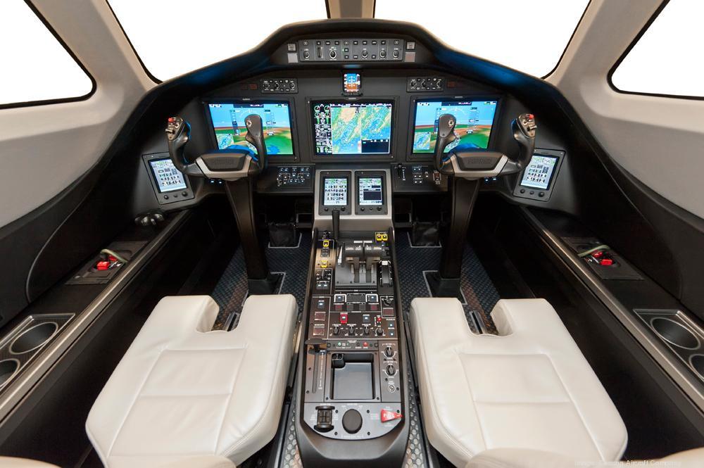 Citation Latitude cockpit