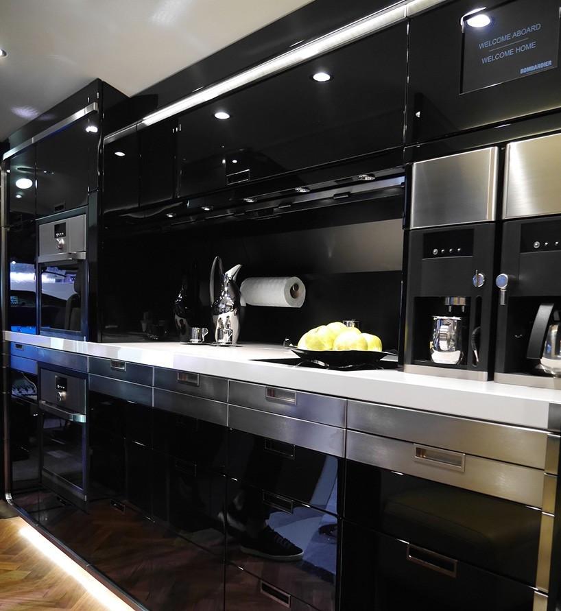 global 7000 Kitchen