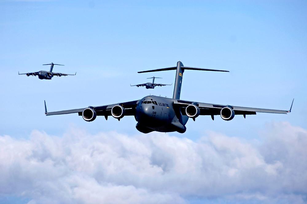 Super jets Globemaster and Super Hercules