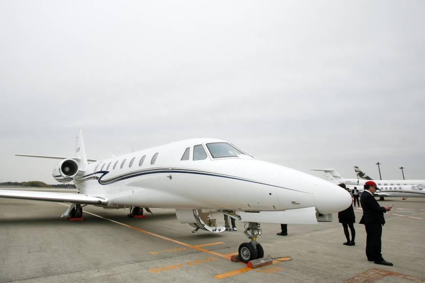 2020 Tokyo Olympics private jet