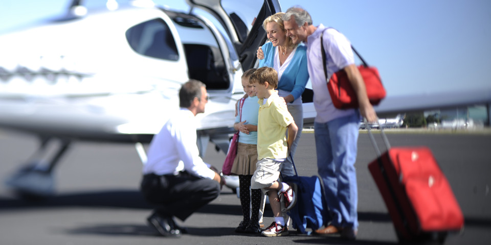 Advantages of flying private