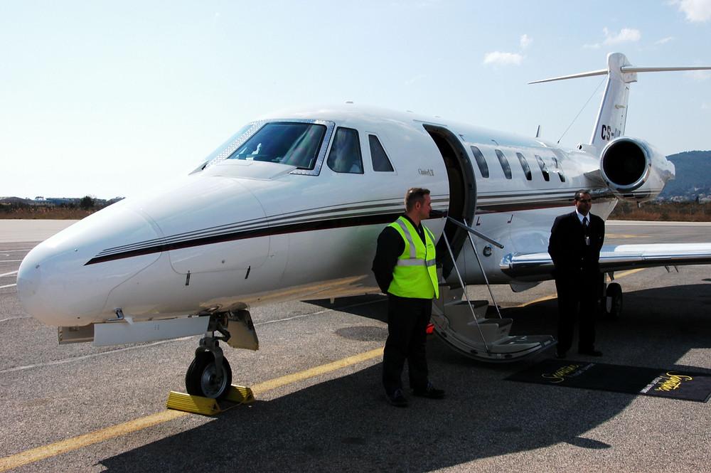 private jet security checks