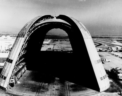 Hangar One in Silicon Valley