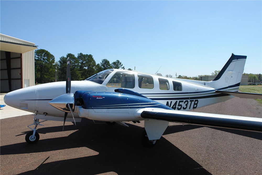 The Beechcraft Baron 58