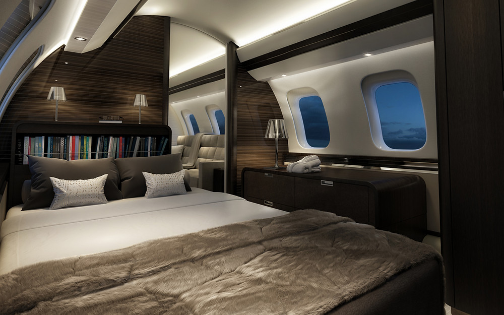 global 7000 bed