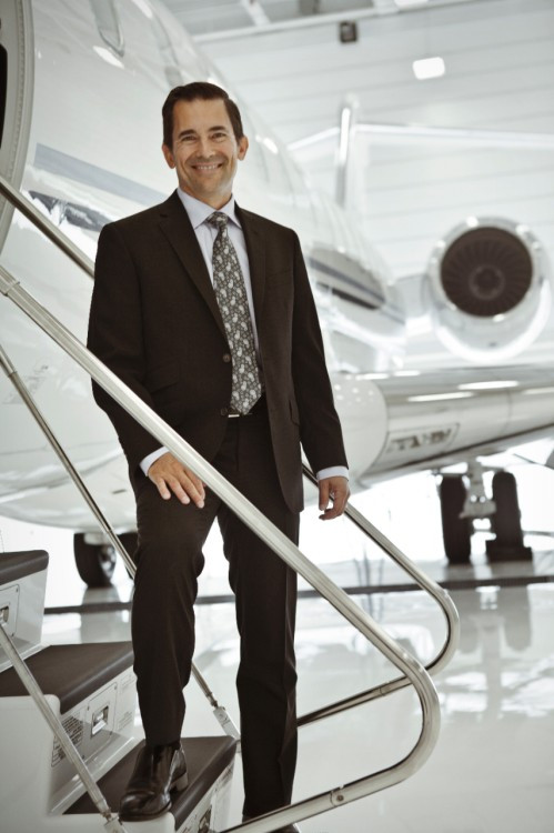 Michel Ouellette, vice-president, aircraft programmes and customer services at Bombardier Business Aircraft