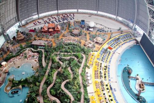 Hangar Turned Waterpark