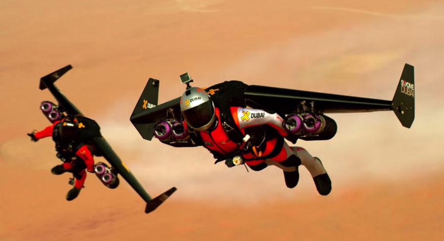 fly jetpacks over Dubai