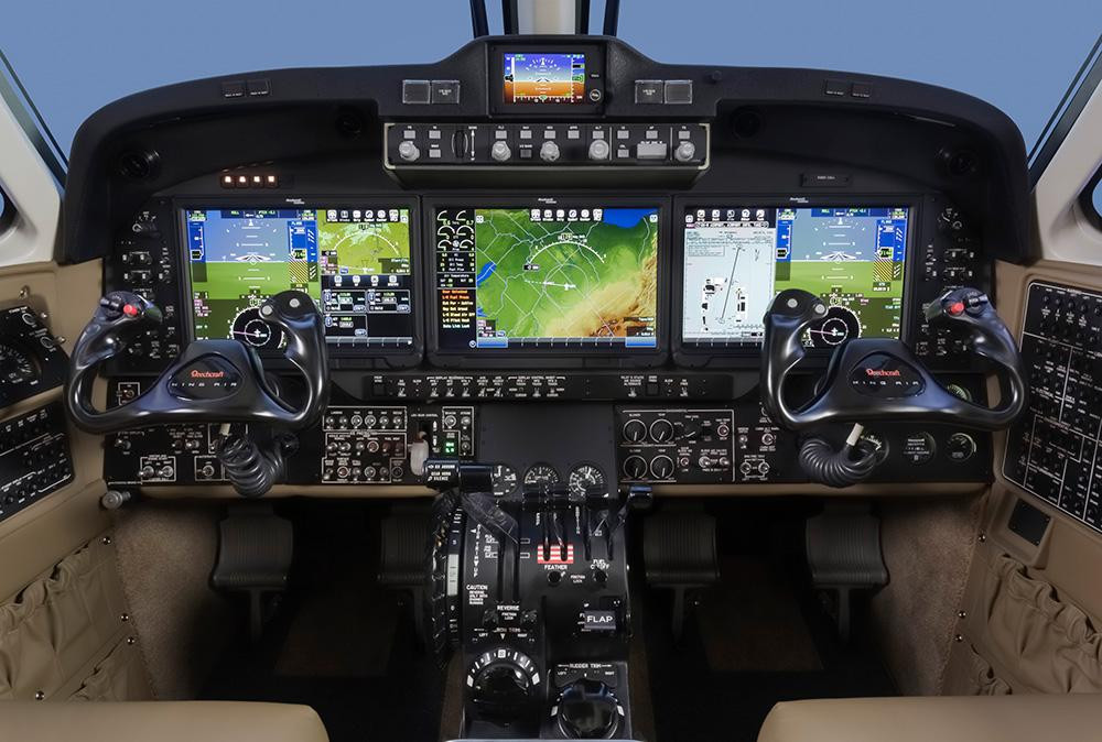 Rockwell Collins' Pro Line Fusion touch screen suite
