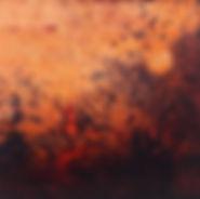 peinture paysage abstrait poétique haikus petit format