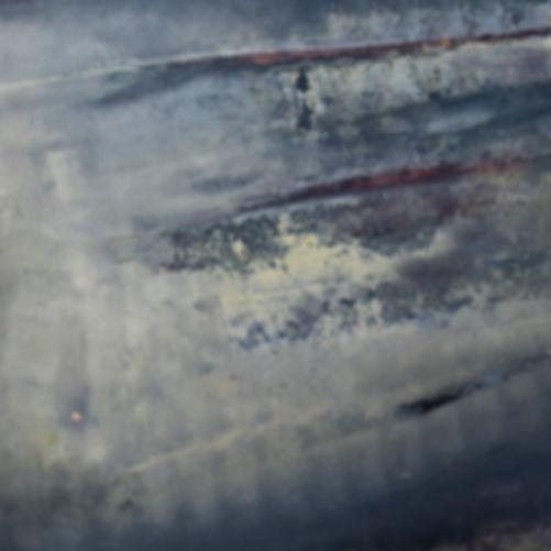 Peinture Tableau Paysage abstrait contemporain moderne Gris