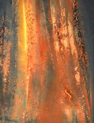 peinture paysage abstrait poétique temple intériorité lumière