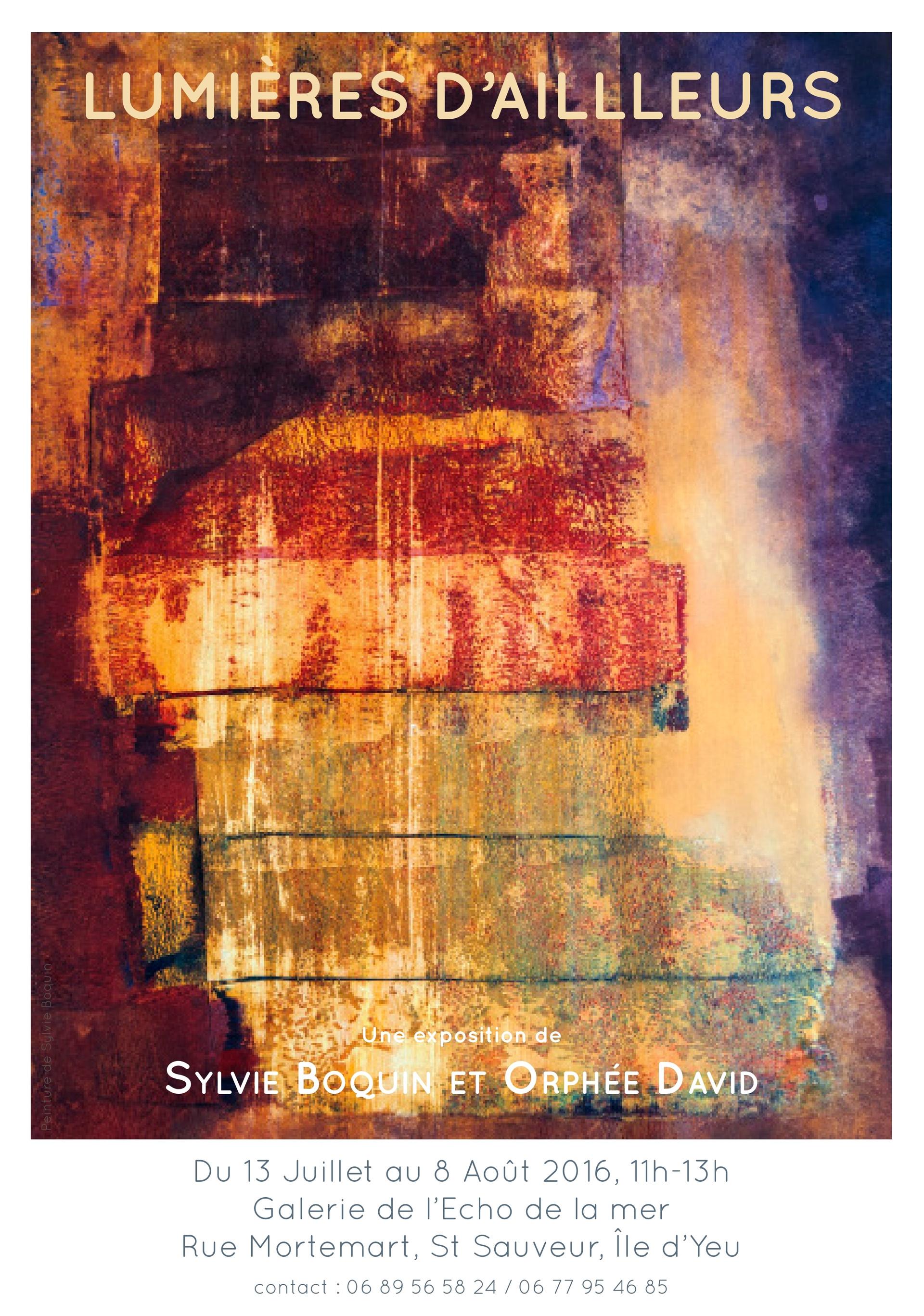 Affiche exposition Paris Orphée David