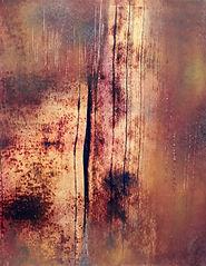 Peinture paysage abstrait poétique lumière