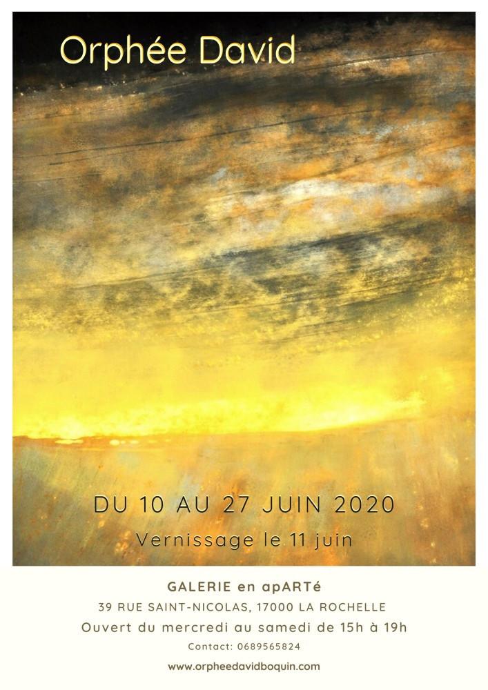 Affiche exposition peinture la rochelle