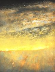 Peinture Paysage abstrait poétique lumière matin Manhã De Carnaval
