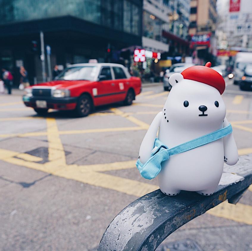 Super cool taxi in HK