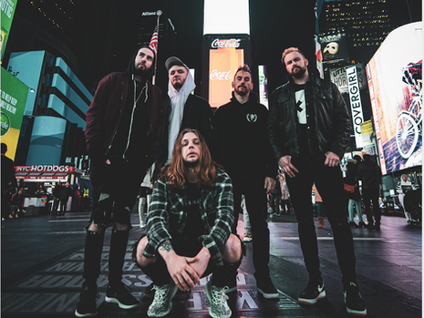 DEAD EYES RELEASED THEIR BRAND NEW BANGERS IN A MUSIC VIDEO CALLED 'BREAK IN THE CURRENT'