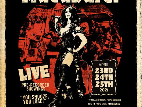 """THE INCREDIBLE ROCK N ROLL SHOW """"MACABARET"""" IS BACK !"""
