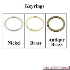 Accessory Selection - Keyrings - - OhioLeatherCompany.com
