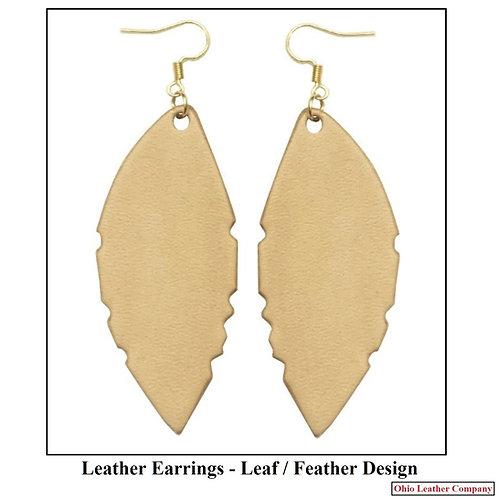 Leather Earring Blank Kit