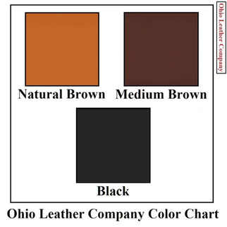 Color Chart Selection for Ohio Leather Company - OhioLeatherCompany.com